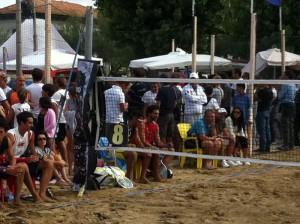 durante il cambio campo Carli/Cappelletti contro Felisatti/Scheda