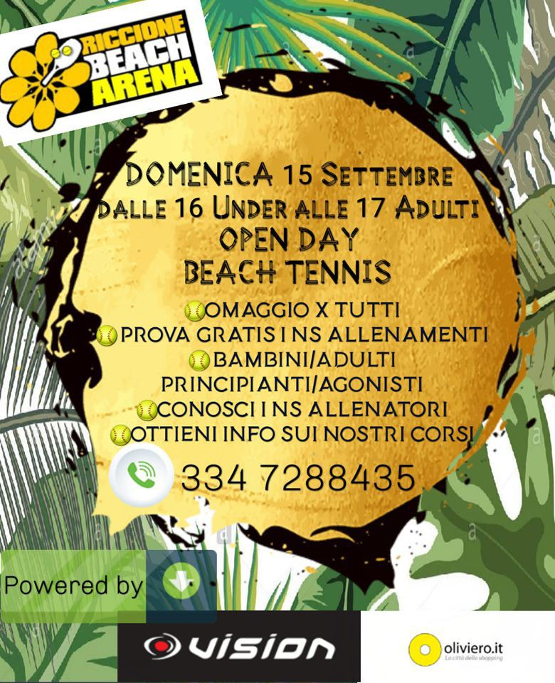 Open Day Beach Tennis