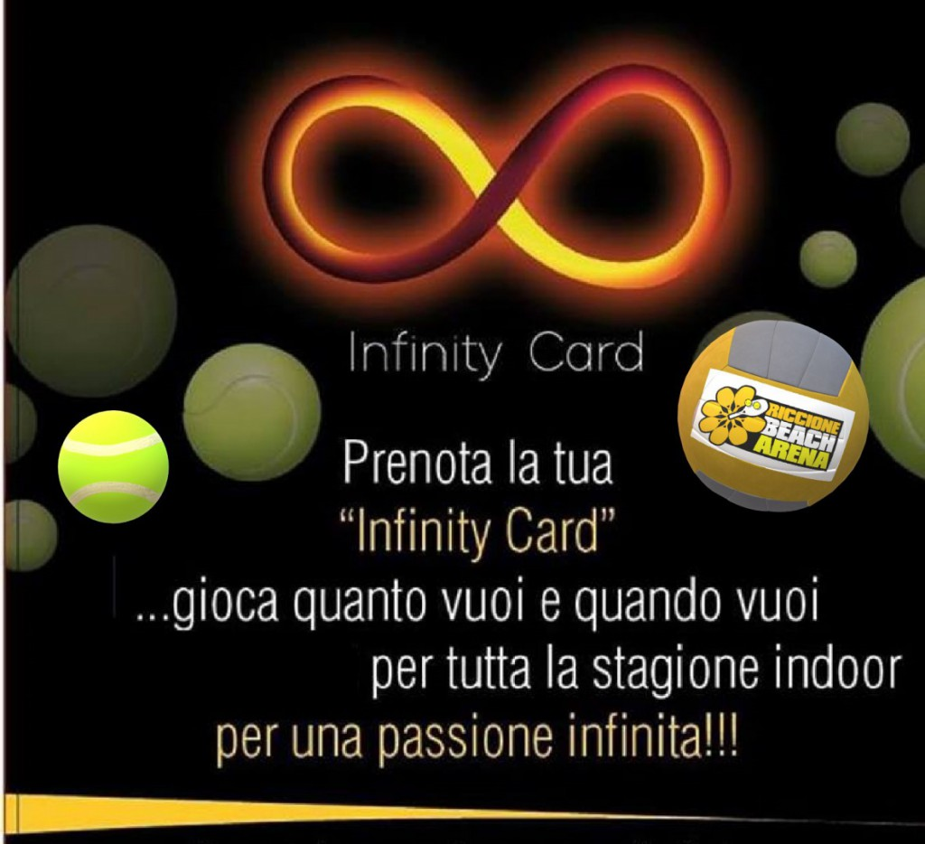 Infinity card 2021-22