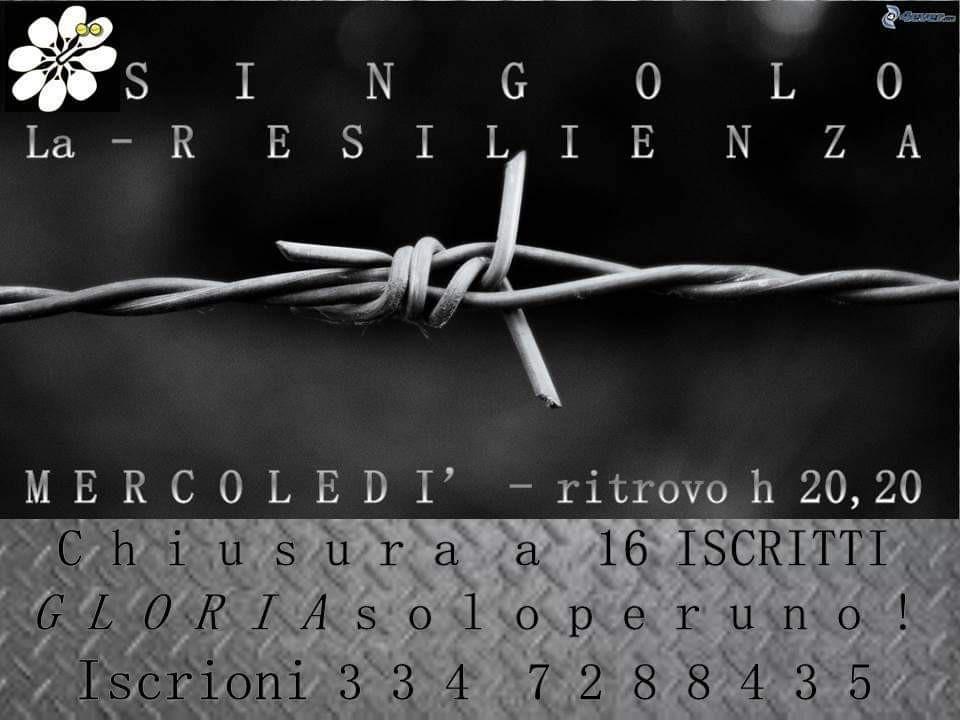 """Torneo di Singolo """"LA RESILIENZA"""""""