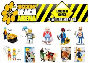 WORK IN PROGRESS Riccione Beach Arena